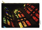 Vivacious Stained Glass Windows Carry-all Pouch