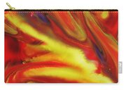 Vivid Abstract Vibrant Sensation IIi Carry-all Pouch