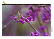 Vivid Beauty Berries Carry-all Pouch