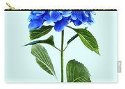 Vivid Blue Hydrangea Carry-all Pouch
