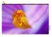 Vivid Crocus Detail Carry-all Pouch