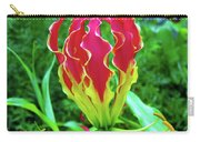 Vivid Gloriosa Lily Carry-all Pouch