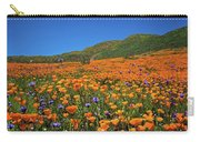 Vivid Memories Of The Walker Canyon Superbloom Carry-all Pouch