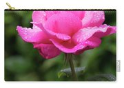 Vivid Pink Rose  Carry-all Pouch