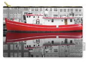 Vivid Rich Red Boat Carry-all Pouch