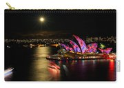 Vivid Sydney Under Full Moon Carry-all Pouch