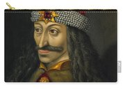 Vlad The Impaler Portrait  Carry-all Pouch