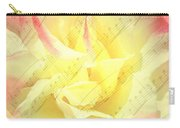 Voice Of The Heart A Rose Portrait Carry-all Pouch