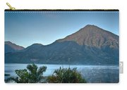 Volcano And Reflection Lake Atitlan Guatemala 2 Carry-all Pouch