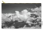 Volcano Chachani In Arequipa Peru Covered By Clouds Carry-all Pouch