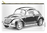 Volkswagen 1949 - Parallel Hatching Carry-all Pouch