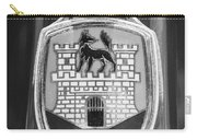Volkswagen Vw Beetle Emblem -0949bw Carry-all Pouch