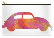 Volkswagom Beetle Art Flames Carry-all Pouch