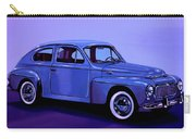 Volvo Pv 544 1958 Mixed Media Carry-all Pouch