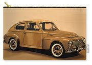 Volvo Pv 544 1958 Painting Carry-all Pouch