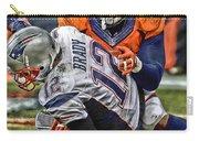 Von Miller Denver Broncos Art Carry-all Pouch