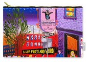 Voodoo Doughnut Sign #18 Carry-all Pouch