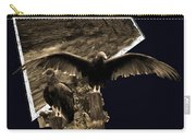 Vulture 3d Carry-all Pouch