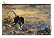 Vulture With Oncoming Storm Carry-all Pouch