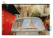 Vw Bus Parked In Basta Beirut  Carry-all Pouch