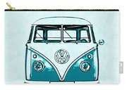 Vw Van Graphic Artwork Carry-all Pouch