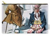 W. Mckinley Cartoon, 1896 Carry-all Pouch