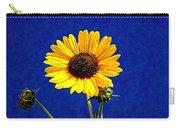 Wabi-sabi Sunflower Carry-all Pouch
