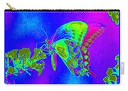 Wacky Butterfly Carry-all Pouch