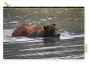 Wading Brown Bear Carry-all Pouch