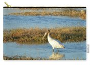 Wading Wood Stork Carry-all Pouch