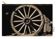 Wagon Wheel Texture Carry-all Pouch