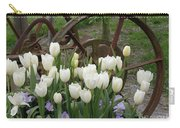Wagon Wheel Tulips Carry-all Pouch