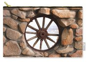 Wagon Wheel Window Carry-all Pouch