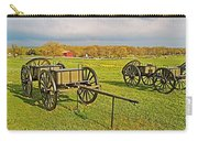 Wagons Used In The Civil War In Gettysburg National Military Park-pennsylvania Carry-all Pouch