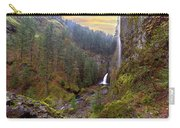 Wahclella Falls In Columbia River Gorge Carry-all Pouch