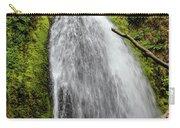 Wahkeena Falls At Footbridge, Oregon Carry-all Pouch