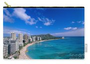 Waikiki And Diamond Head Carry-all Pouch