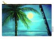 Waikiki Beach Moon #22 Carry-all Pouch