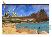 Waikiki Beach Remodeled - Modern Art Carry-all Pouch