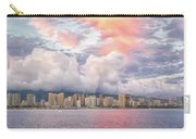 Waikiki Beach Sunset Carry-all Pouch