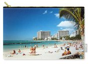Waikiki Beach Carry-all Pouch