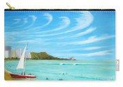 Waikiki Carry-all Pouch by Jerome Stumphauzer