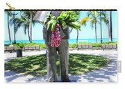 Waikiki Statue - Prince Kuhio Carry-all Pouch