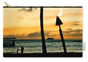 Waikiki Sunset Carry-all Pouch
