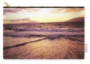 Wailea Beach At Sunset Carry-all Pouch