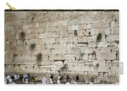 Wailing Wall In Jerusalem Carry-all Pouch