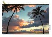 Waimea Beach Sunset 3 - Oahu Hawaii Carry-all Pouch