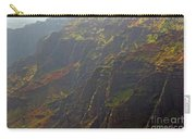 Waimea Canyon On A Misty Day In Kauai Carry-all Pouch