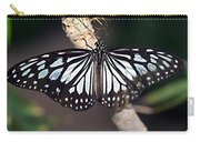 Waiting --- Rice Paper Butterfly Carry-all Pouch