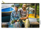 Waiting By The Boats Carry-all Pouch